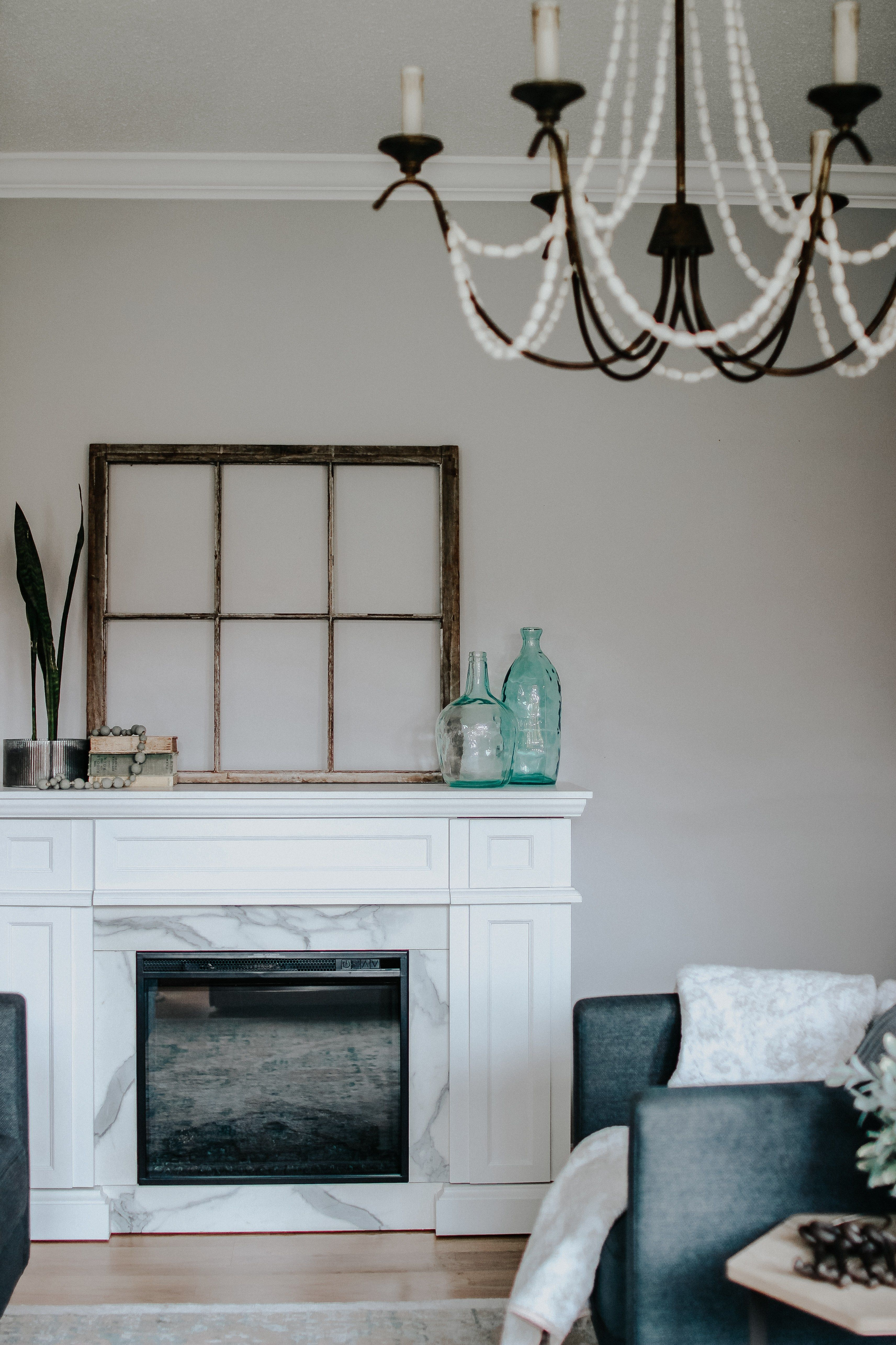 CANVAS Room Refresh with Canadian Tire. This room is completely decorated  and styled with #CanadianTire decor and furniture   Room, Blogger decor,  Fireplace update