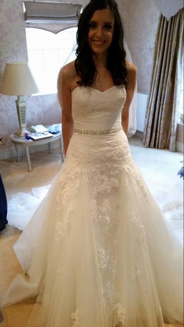 My Wedding Dress Dabra D By Enzoani Blue
