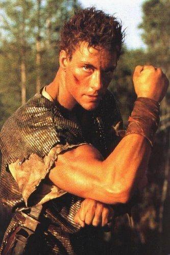Jean Clude Van Damme In Cyborg Movie 1989 Jean Claude Van Damme Van Damme Top Hollywood Actors