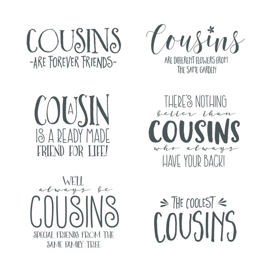 Cousin Word Art Overlays Cute Cousin Quotes Best Cousin Quotes Funny Cousin Quotes