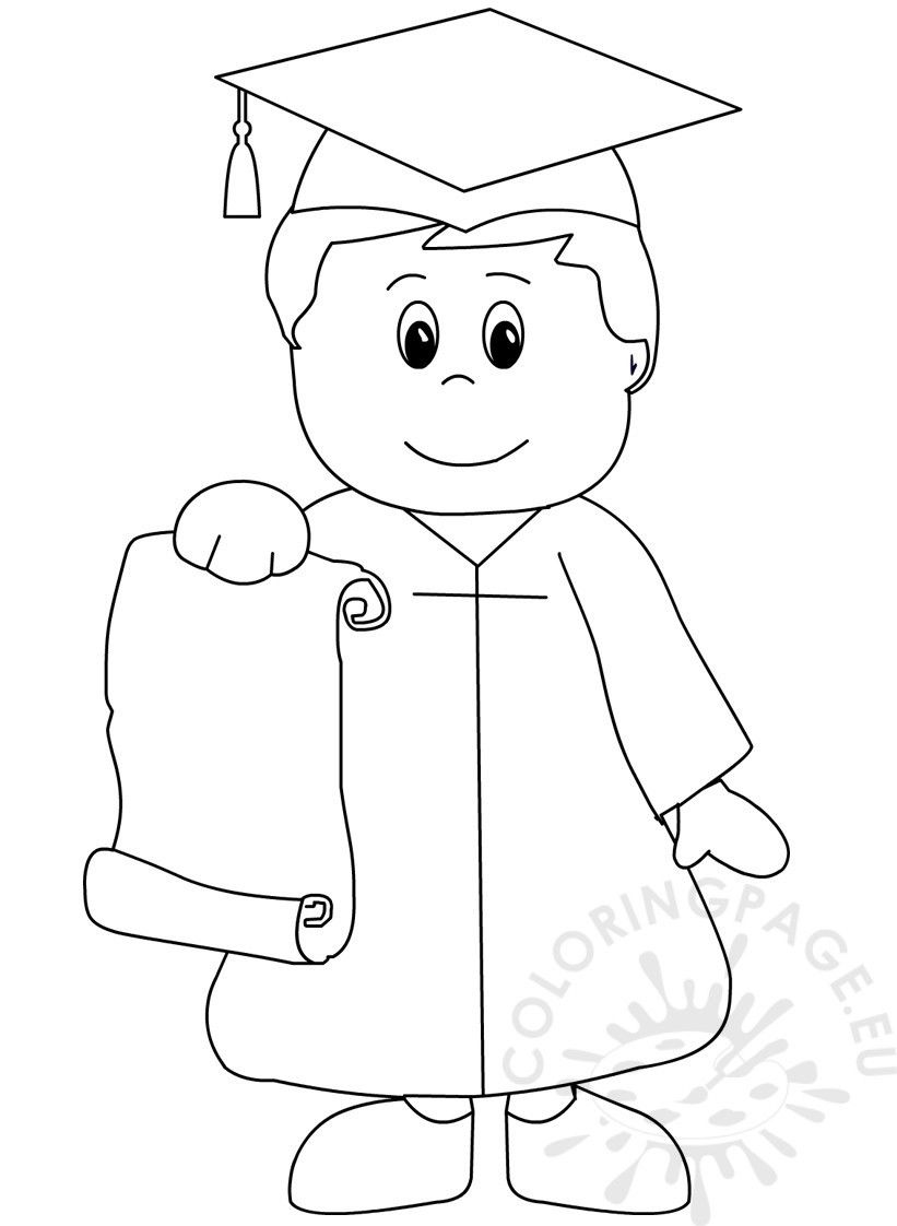Graduation Coloring Pictures Bear Pages Prayer Pinterest