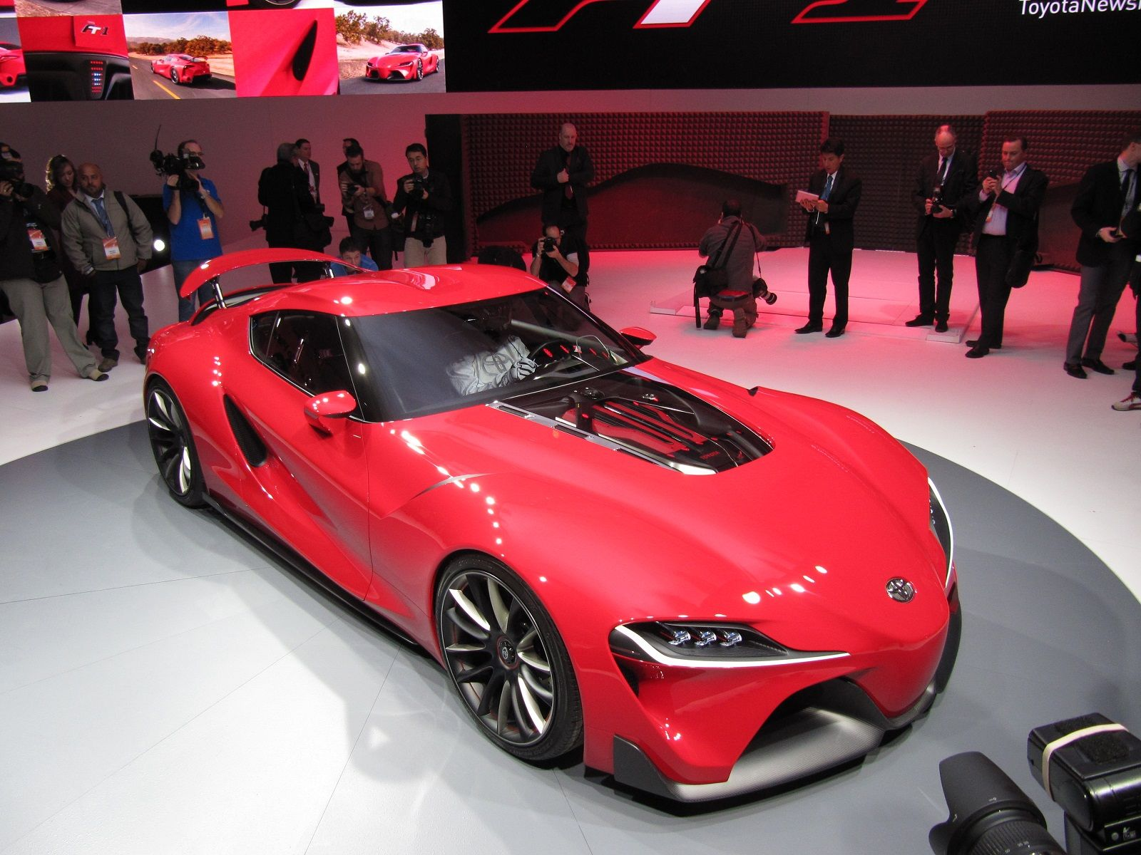 Beau Picture Of The New 2015 Toyota Supra Concept