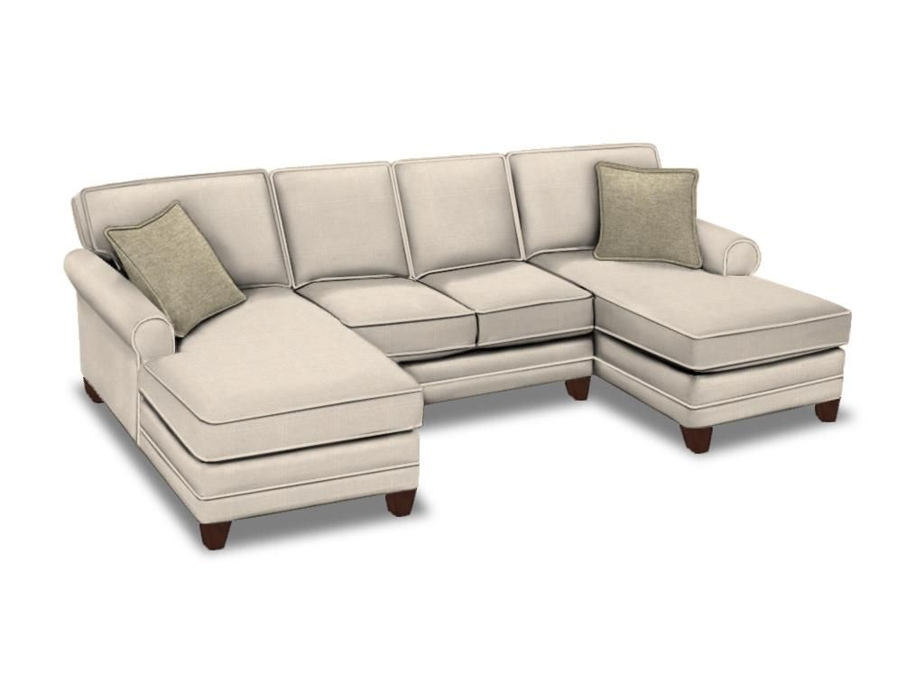 piece velvet meridian furniture gail cream double chaise sectional in tufted