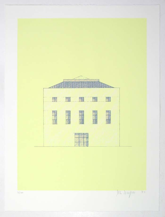 Glashutte House Sudeifel O M Ungers Architecture Sketch Architecture Drawing Architecture Drawings