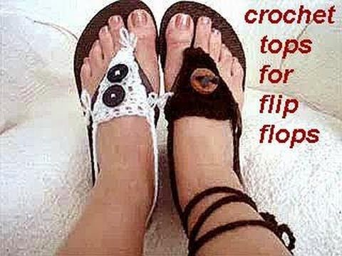 2c6e8b5a04bb ▷ CROCHET TOPS FOR FLIP FLOPS