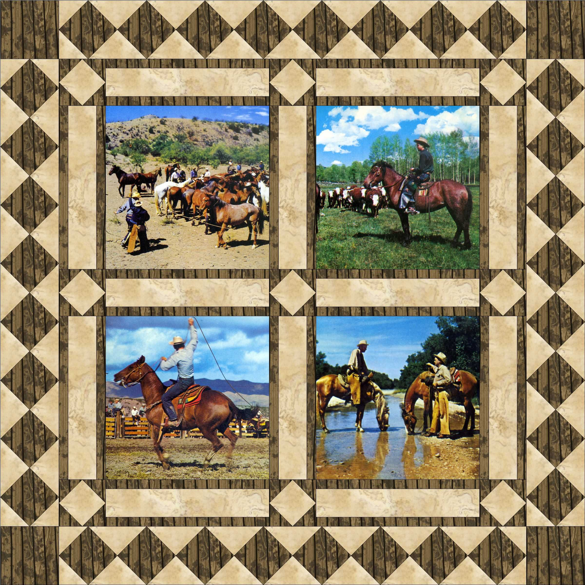 Western Quilt Patterns Amazing Decorating Ideas