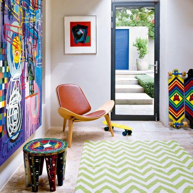 Idées Déco Maison, En utilisant des couleurs pop dans la déco ...