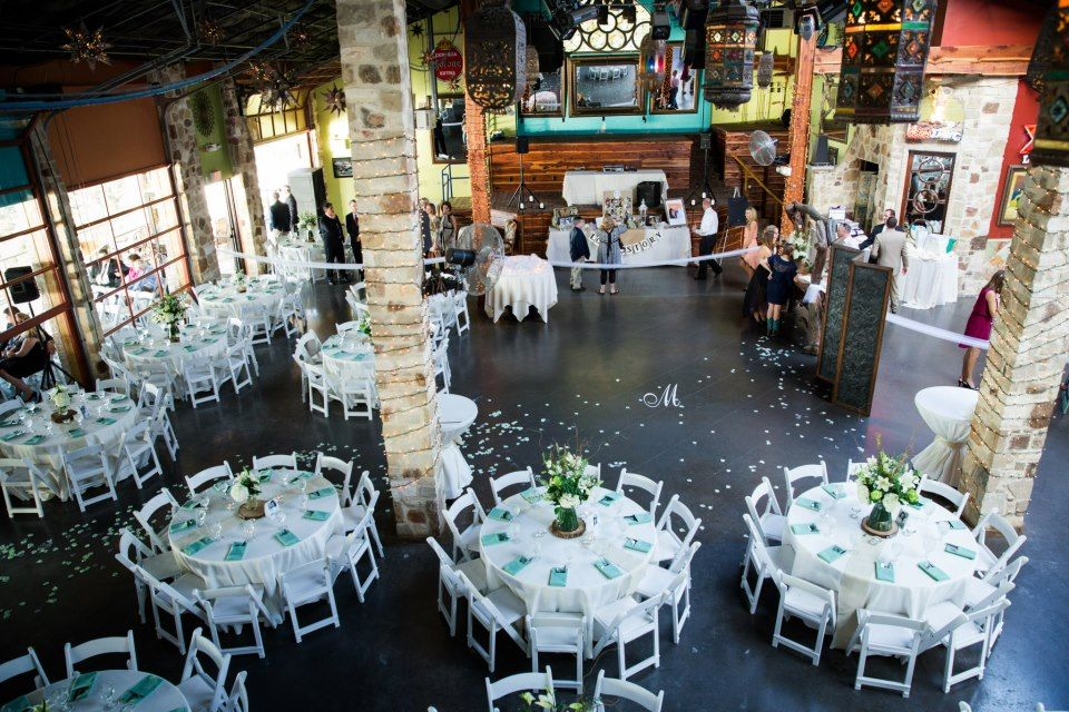 Oasis Wedding Venue The On Lake Travis Restaurant Austin Tx Tropical Jamaican
