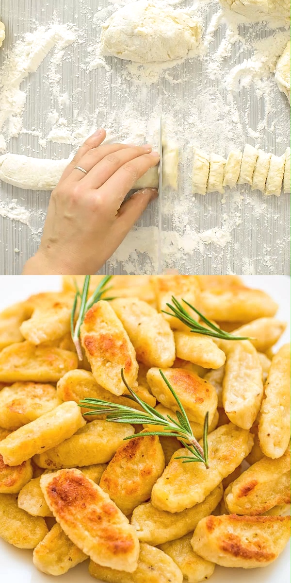Learn how to make Cauliflower Gnocchi from scratch! Follow my simple photo/video instructions and make these yummy gnocchi for dinner tonight. FOLLOW Cooktoria for more deliciousness! #cauliflower #gnocchi #homemade #vegetarian #dinner #lunch #recipeoftheday #cooktoria