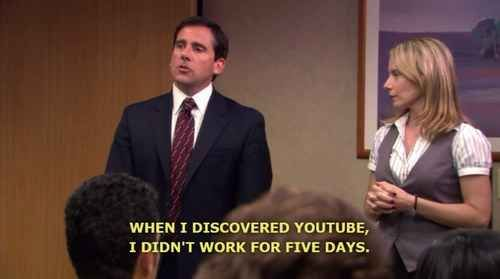 He Was Great At Time Management With Images Michael Scott