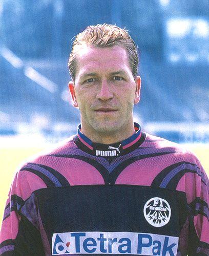 Andreas Kopke Fussballspieler Eintracht Frankfurt Andreas Kopke
