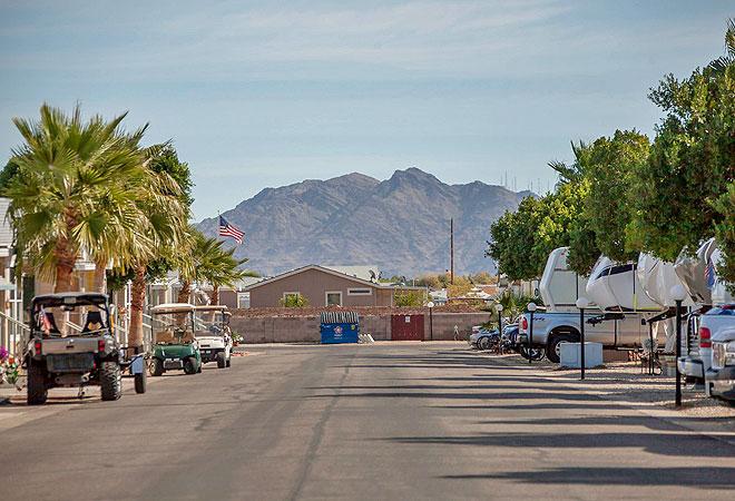 Desert Paradise Rv Resort An Encore Resort At Yuma Arizona United