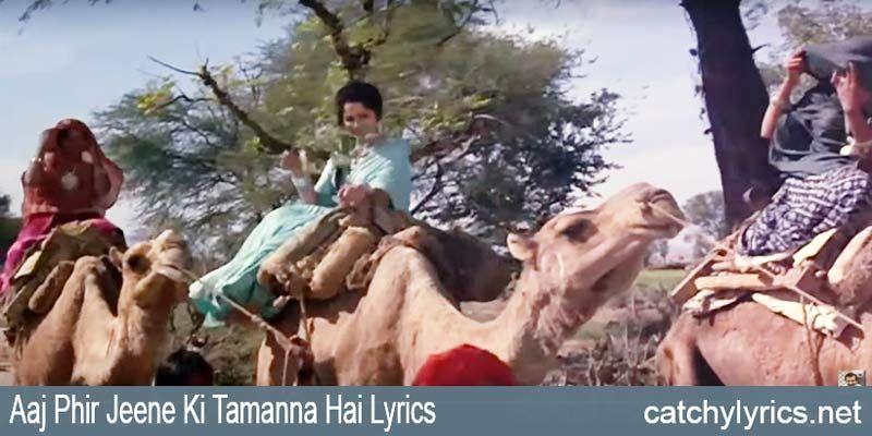 Piya tose naina lage re lyrics guide   lata mangeshkar   old.