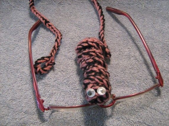 Crochet Bookworm Bookmark Rosey and Black by craftheart on Etsy, $3.25  1/23 - 1/30 buy one and get one FREE