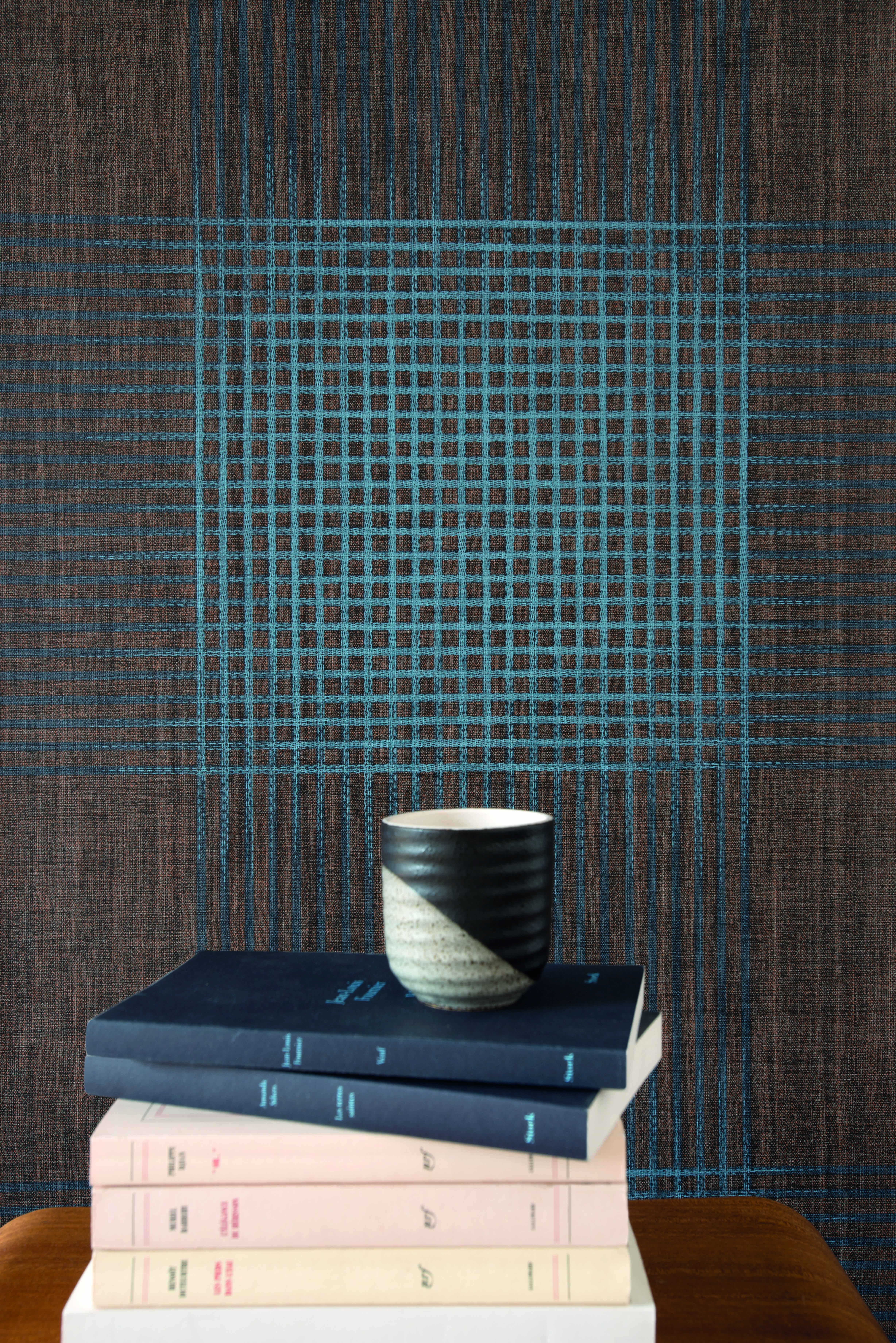 The Playful Patterns And Textiles Weavings Joined Adjacently Newlook Shares A Common Color Scheme Creating Whole New Look For Your Living Room