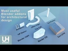The Most Blender Useful Addons For Architectural Design   YouTube