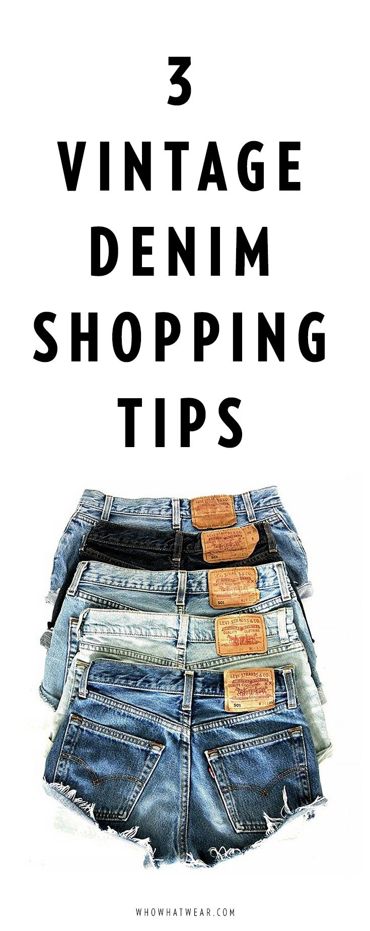 3 vintage denim shopping tips from the experts