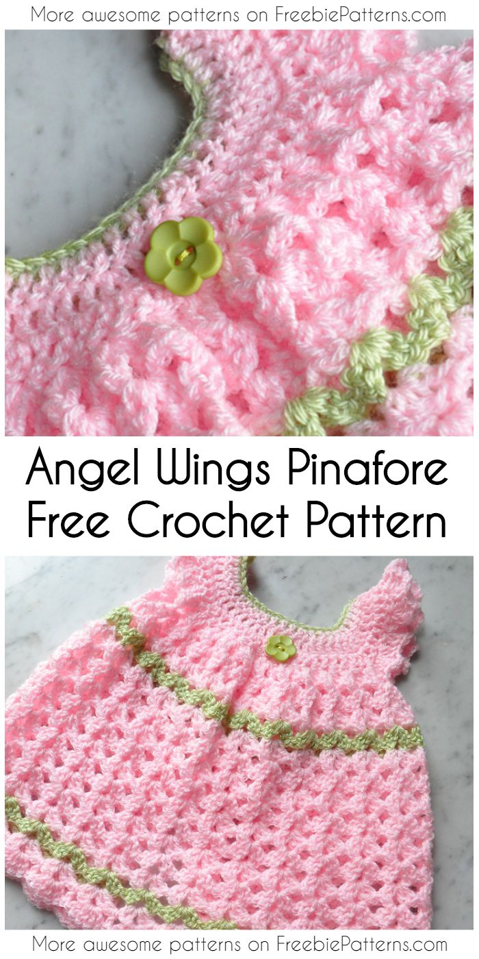 Cute Angel Wings Pinafore Little Dress Ideas And Free