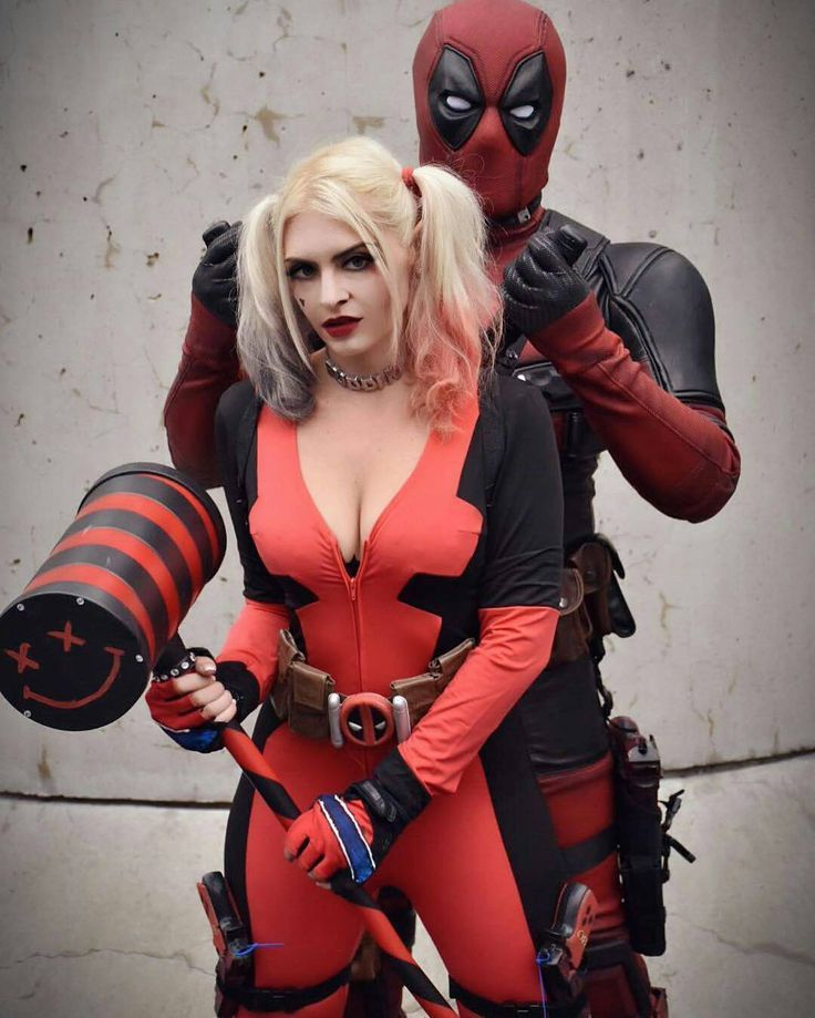 Image result for deadpool harley quinn cosplay | Cosplayers | Pinterest