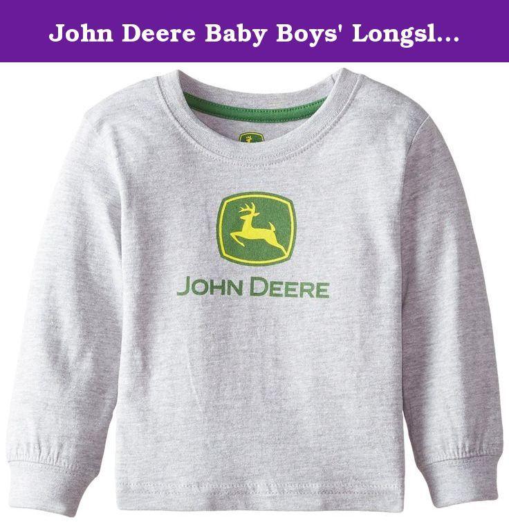 John Deere Little Boys Classic Green Long Sleeved T-Shirt