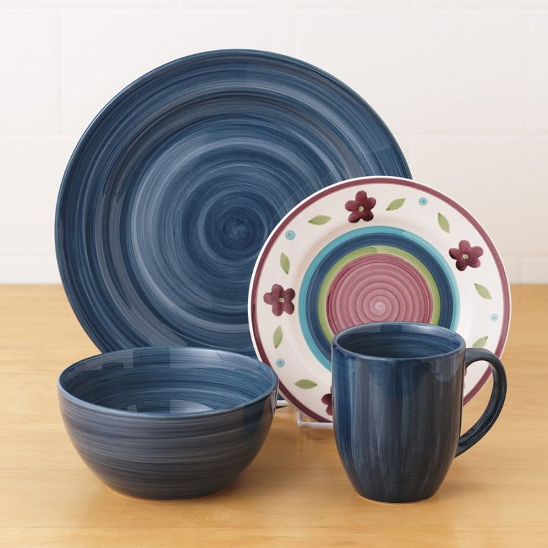 Attrayant Tabletops Unlimited, Inc. Monterey Cobalt Open Stock Dinnerware Collection