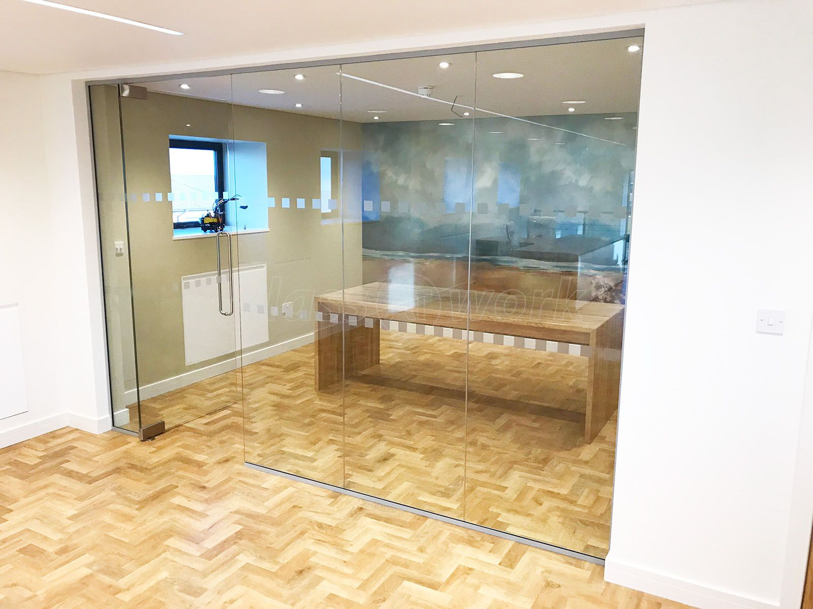 From Glass At Work Interior Glass Walls And Doors For Gmc Building