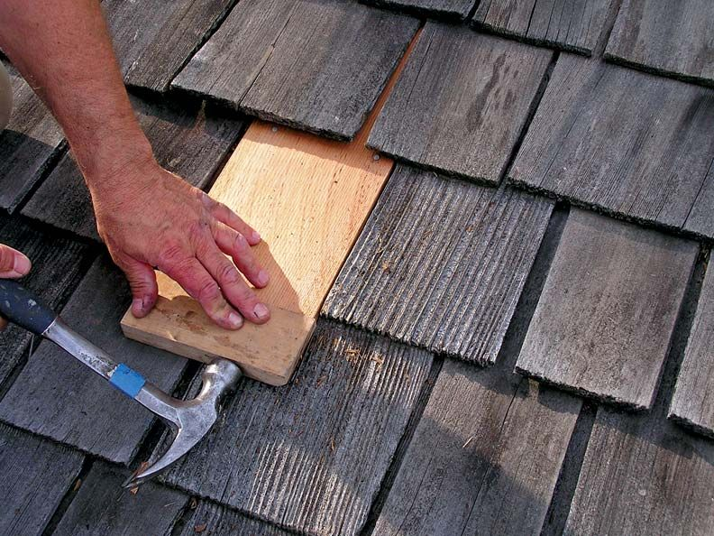 Replace a Shingle in 5 Steps Flat roof repair