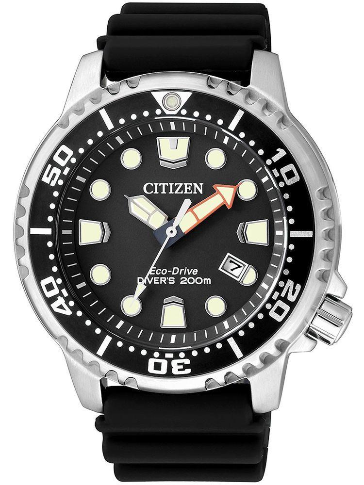 df2946621 Citizen Men's Eco-Drive BN0150-28E Promaster Diver Black Watch   Jewelry &  Watches, Watches, Parts & Accessories, Wristwatches   eBay!