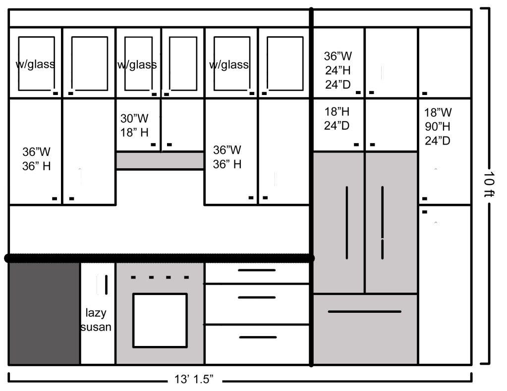 How Tall Kitchen Cabinets