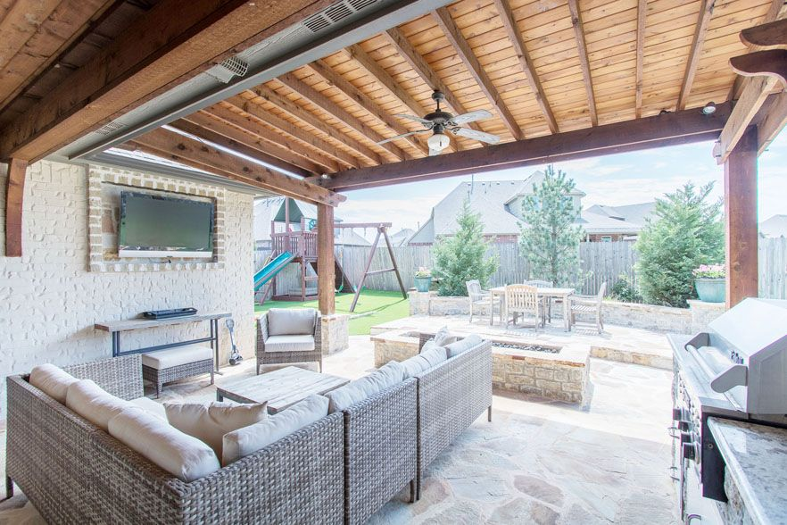 Breath of fresh air outdoor living areas among many
