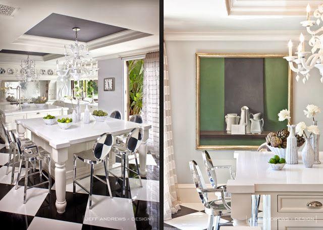Genial Blanco Interior: At Home Kris Jenner Kris Jenner ... Inside Home!