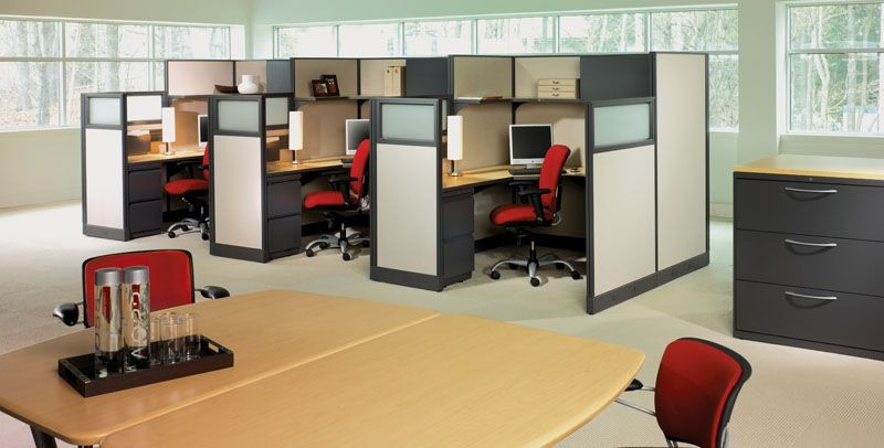 Office arrangement ideas small office design picture for Modern office space layout