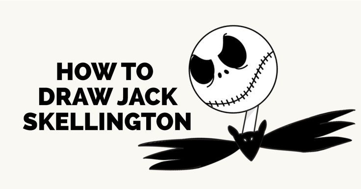 how to draw jack skellington easy and simple guide