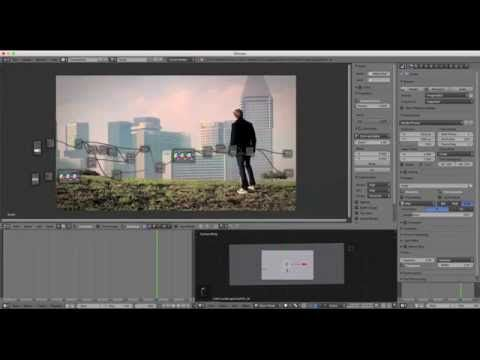 Blender VFX Masking Tutorial: Sky Replacement  | blender