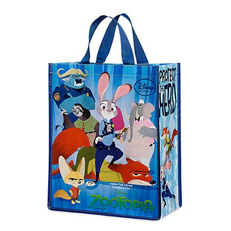 Zootopia Reusable Tote | Zootopia Shop | Pinterest | Accessories ...