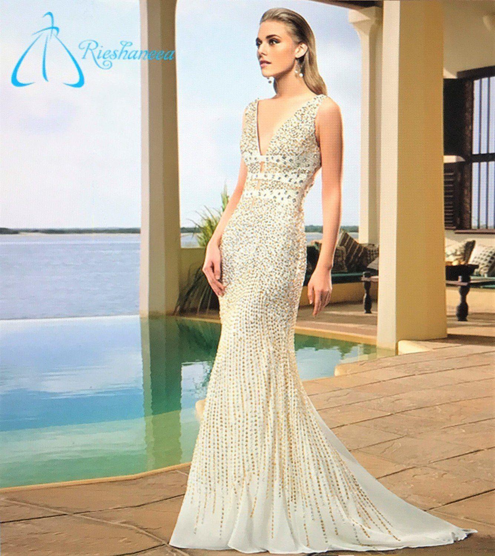 Fanback (Fishtail) Mermaid Wedding/Prom Dress. Luxury New