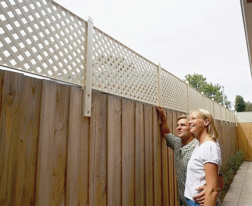 Backyard Privacy Fence Extension Google Search