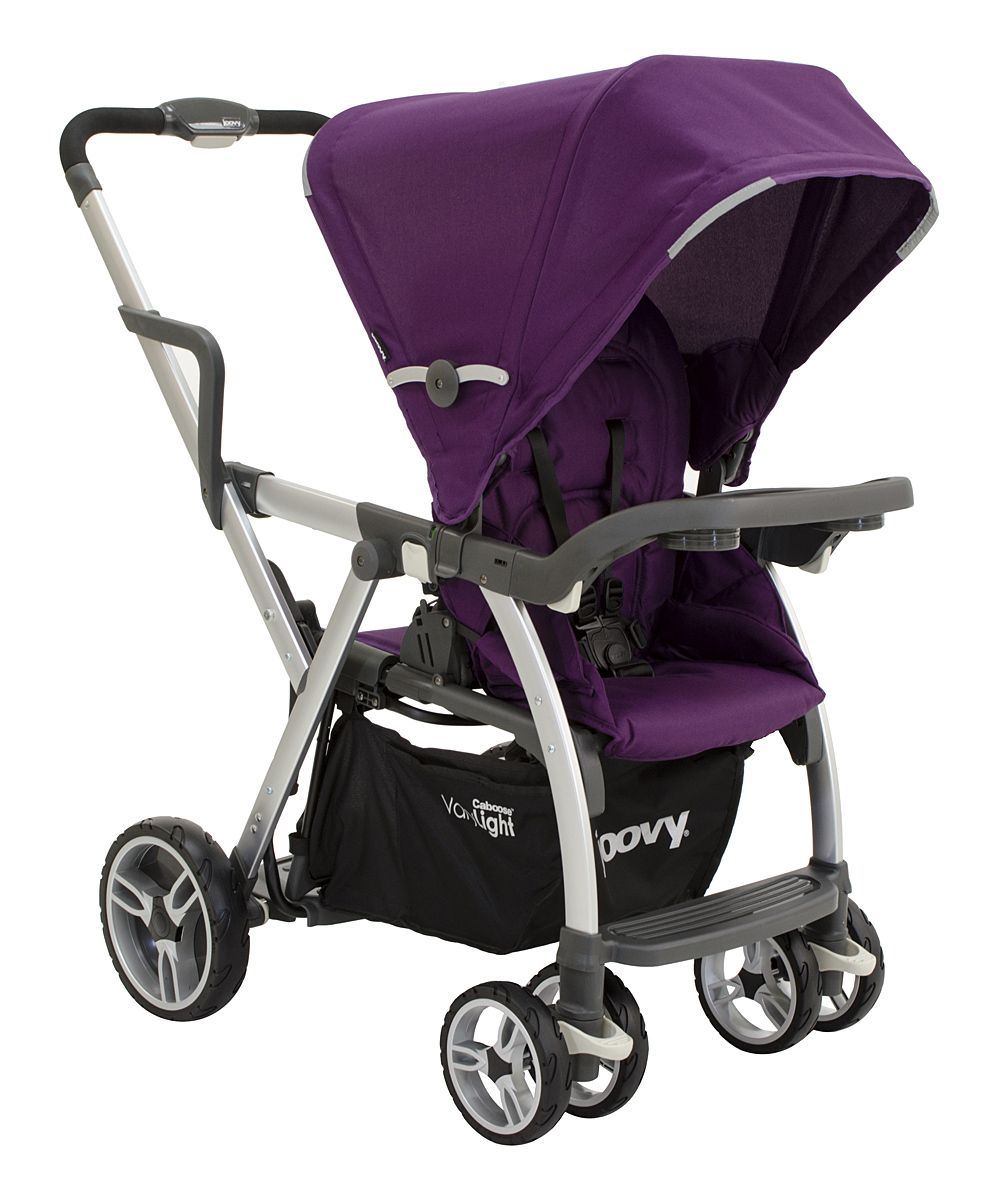 Purpleness Caboose VaryLight Tandem Stroller zulily