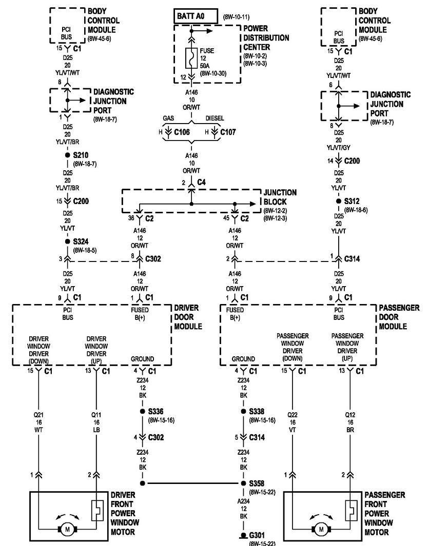 2001 Jeep Grand Cherokee Window Diagram  Wiring Library