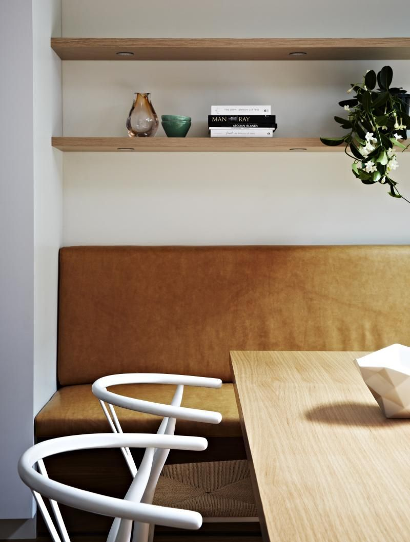 Commercial Road Residence dining nook by Doherty Design Studio. Photographer: Armelle Habib