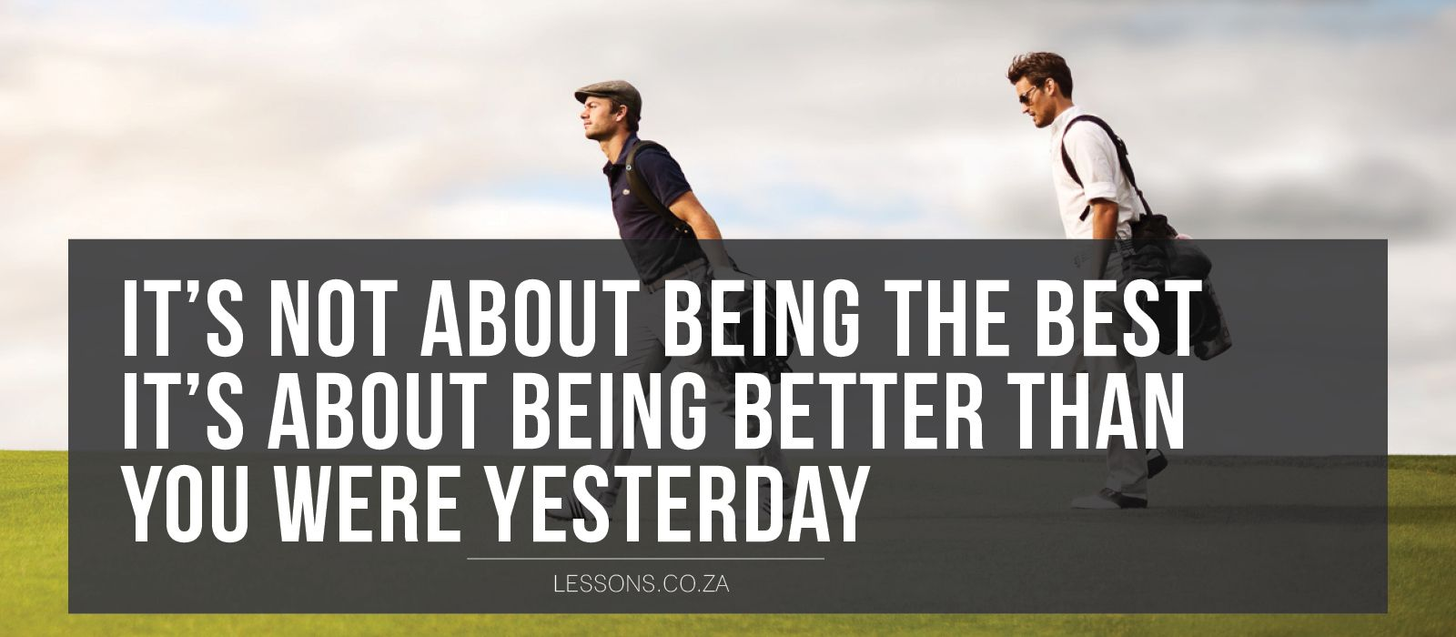It's not about being the best, it's about being better than you were yesterday#liveandlearn #lessons #golf #golfcourse #sports #success