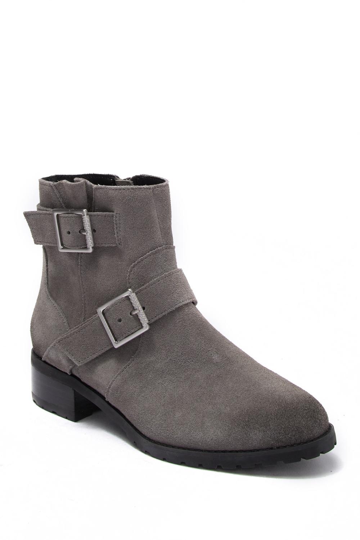 SUSINA | Odette Suede Buckle Ankle Boot #nordstromrack