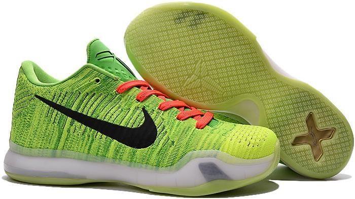 c433f4c60cc Nike Kobe 10 Elite Low Grinch
