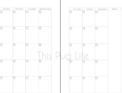 Free Printable Planner Inserts For Franklin Covey Filofax