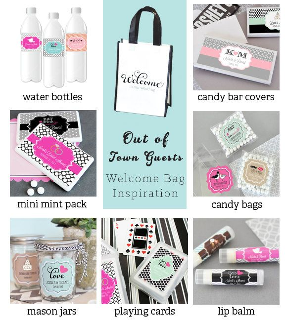 Destination Wedding Welcome Bags Hotel Gift By ModParty 1680
