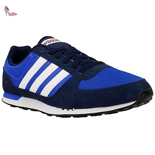 adidas Neo City Racer, Chaussures homme - multicolore - Bleu marine / Bleu  / Rouge