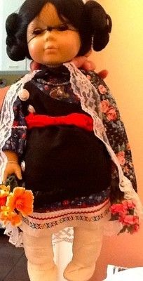 Starshine Native American Hopi Leila doll fine handmade clothing limited edition (09/06/2013)