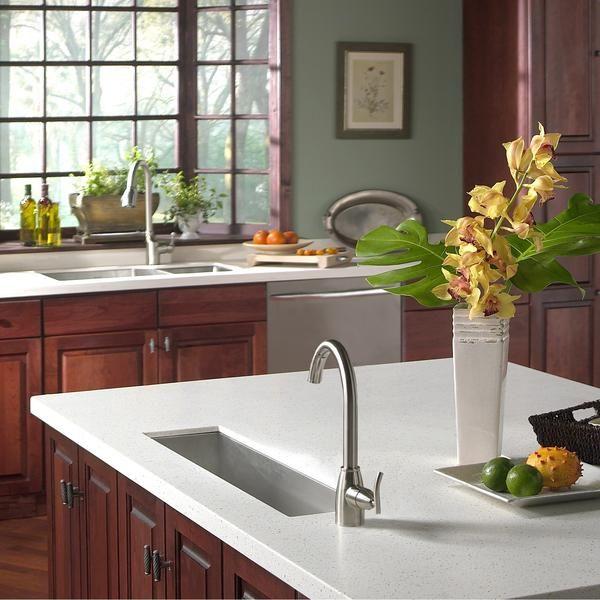 houzer ctb 2385 contempo trough series undermount stainless steel bar prep sink rustic kitchen on kitchen sink id=13450
