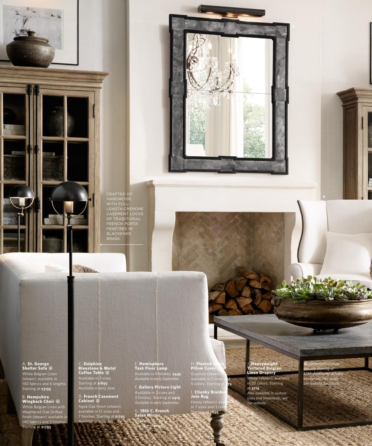 Beautiful Living Rooms and Offices | RH Source Books | C ...