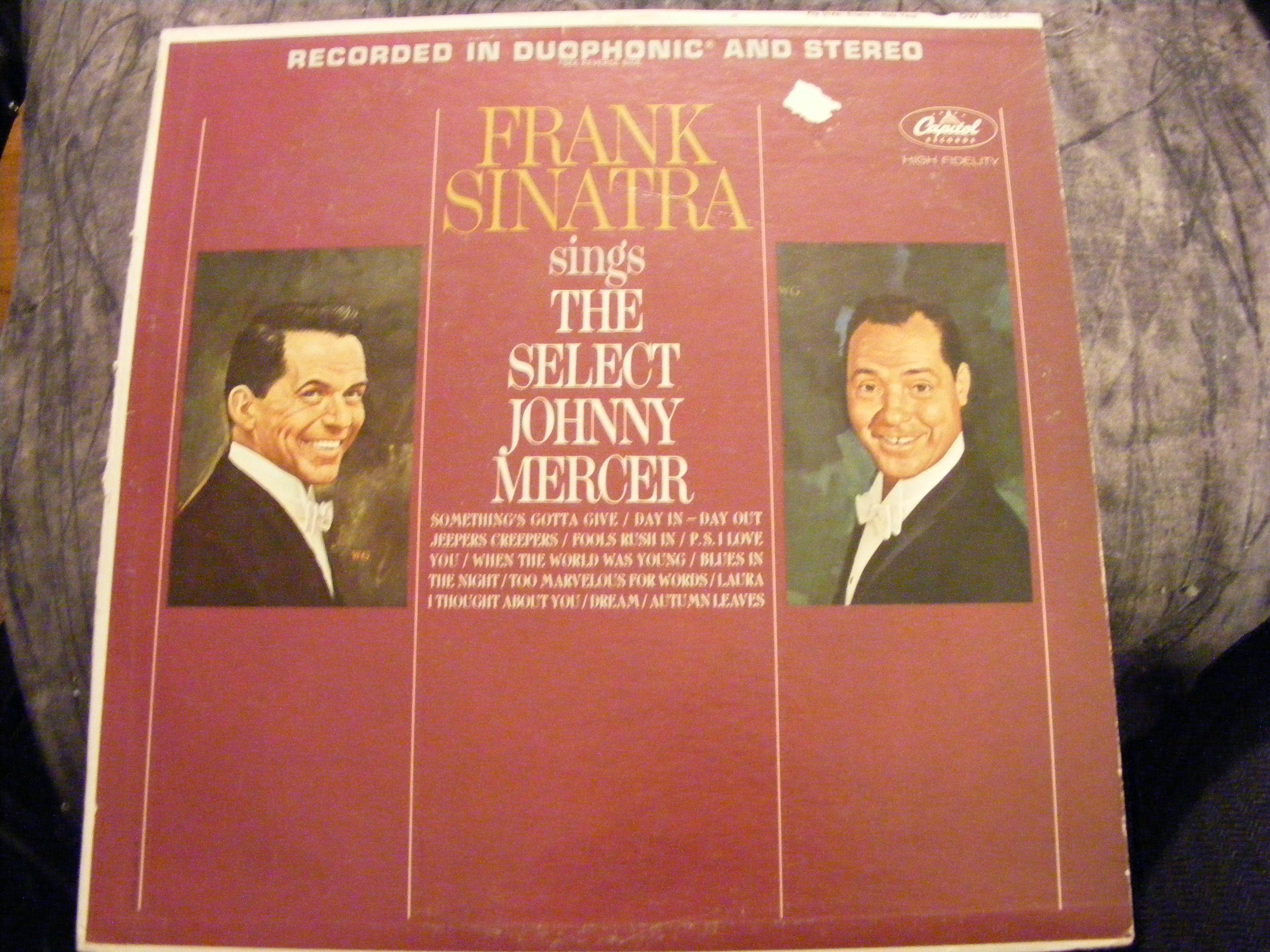 Frank Sinatra Sings The Select Johnny Mercer Album Cover 1984